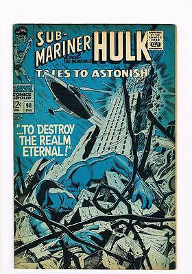 Tales to Astonish # 98  Destroy the Realm Eternal ! grade 7.5 scarce hot book !!