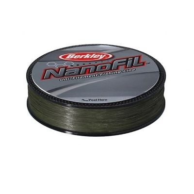 Berkley Nanofil 125m spools Uni Lo Vis Green Filament Line - CLOSING DOWN SALE!