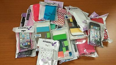 Wholesale Lot of 100 Cell Phone Case cover iPhone Samsung LG HTC Motorola Nokia