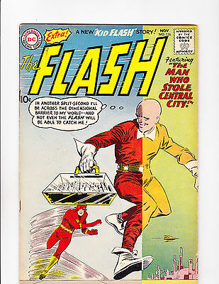 """Flash  No.116   : 1960 :    : """"The Man Who Stole Central City!"""" :"""