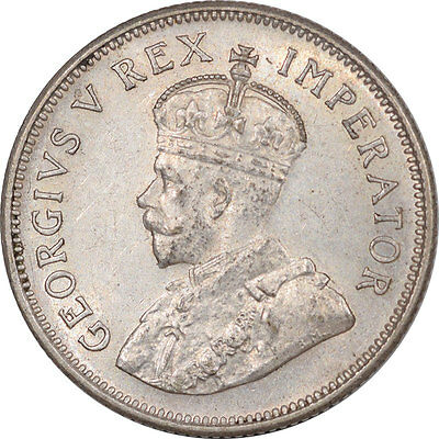 1936 Shilling South Africa- High Grade, Nearly Uncirc, Looks Choice, $65 In Unc!