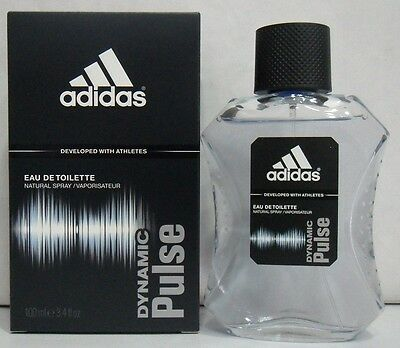 Uomo-Profumo ADIDAS DYNAMIC PULSE Eau De Toilette 100 ML Spray OFFERTA