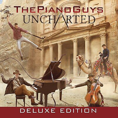 The Piano Guys - Uncharted CD & DVD 2016 [Deluxe] New & Sealed