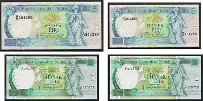 MALTA Banknotes. Choice of Notes Discounts up to 25% available
