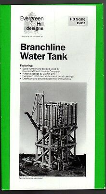 Evergreen Hill Designs -  Branch Line Water Tank, HO EH513