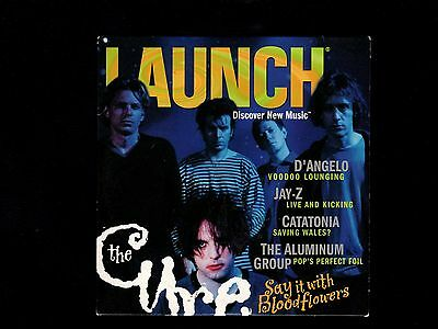 Original The Cure Jay-Z Others Launch Mag CD-ROM 2000 Opened Near Mint