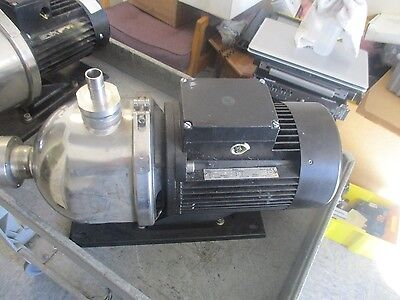 Grundfos Type: CHI8-30 A-W-G-BUUE  Booster Pump.  Model: C4EZ20015  <