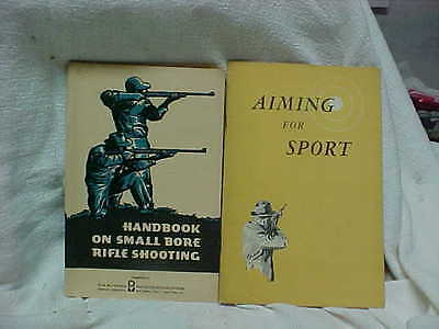 Two Rifle Instruction Booklets By Olin-Mathieson & Winchester-Western