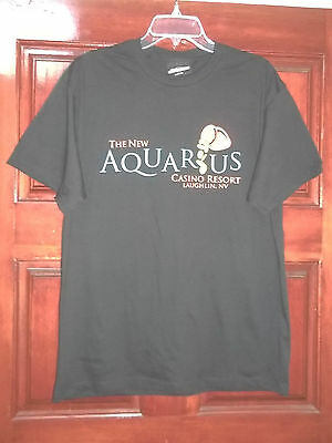 The New Aquarius Casino Laughlin Good Times Flow Nevada Large T-Shirt  BRAND NEW