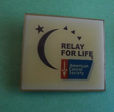 Relay For Life  American Cancer Society New Lapel Pin