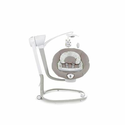 Joie Serina Swivel Ned Swing Baby New Musical Vibrating Rocker Chair Nightlight