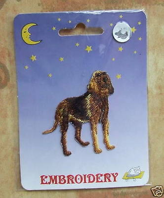 DOG Embroidery Iron On Patch - Bloodhound Dog - NEW