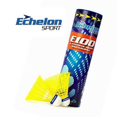 Echelon E100 Yellow Shuttlecocks