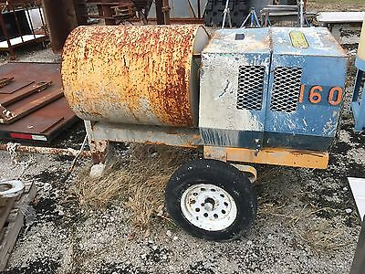 Stone 1265Pm Tow Behind Mortar/concrete Mixer With 11Hp Honda Engine