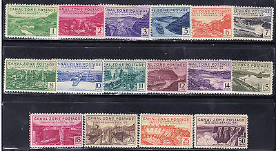 Canal Zone - 120 - 135 - Complete Mnh Set - Look!