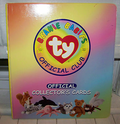 Ty - Beanie Babies Official Club Card Binder + 100 Cards