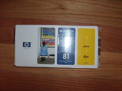 Genuine Hp #81 Yellow Printhead/cleaner Designjet 5000 5500 C4953A Factory Seale