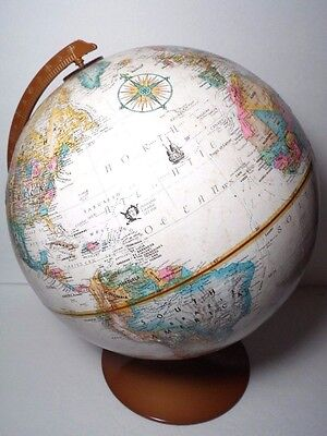 "2003 Replogle 9"" 9 Inch Diameter Desktop Globe World Classic Series Kevin Dzurny"
