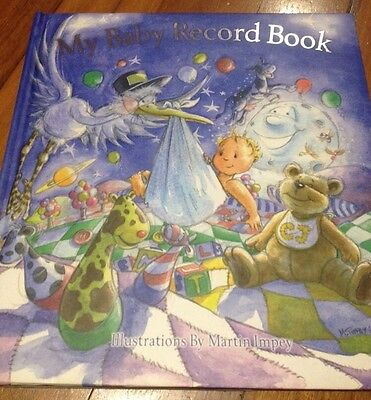 My Baby Memory Record Book Martin Impey Unisex Brand New Boy Girl Gift Born