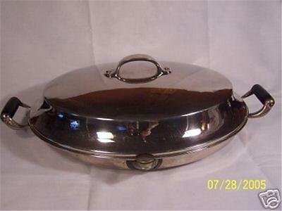 Vintage Warming Plate With Cover NR