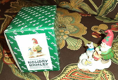 """Christmas Treats "" Holiday Hamlet Fitz and Floyd Enchanted Forest Figurine"