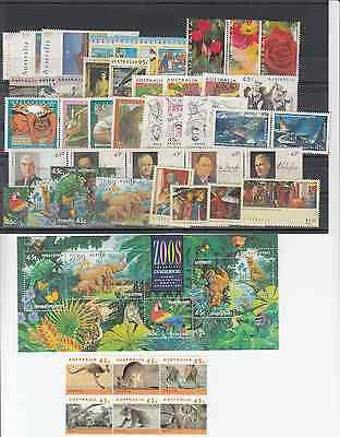 1994 year collection.of 48 stamps plus 1 x miniature sheet. MNH and cheap