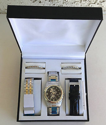 Disney Mickey Mouse Character Watch,3 Bezels,3 Bands MIB Lot