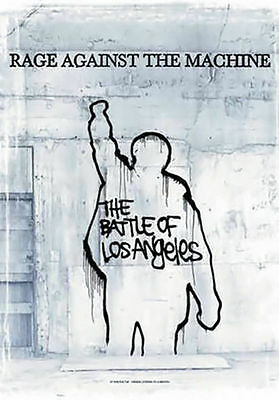 Rage Against The Machine Poster Flag Battle Of Los Angeles