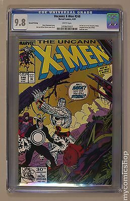 Uncanny X-Men (1963) 1st Series #248REP CGC 9.8 (2458635027)