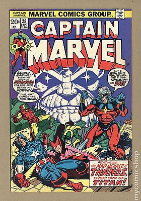 Captain Marvel (1968 1st Series Marvel) #28 GD+ 2.5