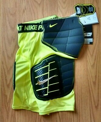 NIKE PRO COMBAT COMPRESSION DRI-FIT XL Boys Shorts Football Pads HYPERSTRONG