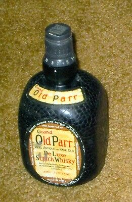 Unusual Vintage Radio in Shape of Old Parr Scotch Whiskey Bottle