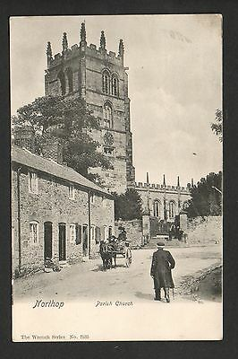 Northop - Parish Church - printed postcard