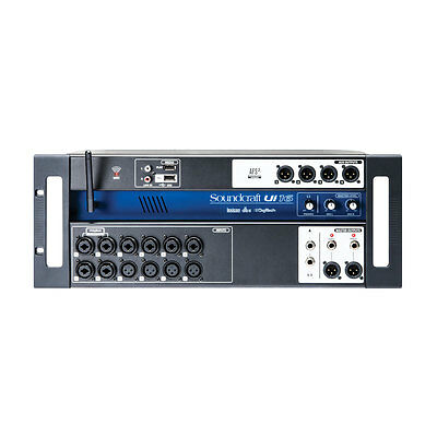 Soundcraft Ui16 16-input Remote-Controlled Wireless Digital Mixer