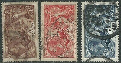 Great Britain 1934  KGV SEAHORSE  SET (Fine Used) Sg 450-2 (NUMBER 2)