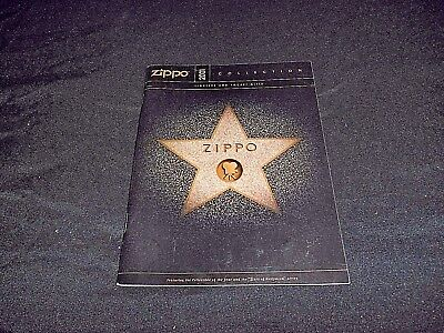 Zippo Cigarette Lighters - 2001 Consumer Guide To Zippo Lighters & Pocket Gifts