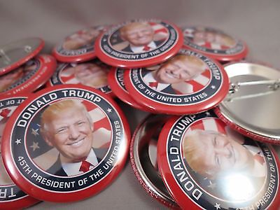 Wholesale Lot Of 22  Donald Trump 45Th President Buttons Usa Flag Photo Money