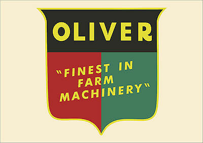 Oliver Tractor  Banner  FREE SHIPPING