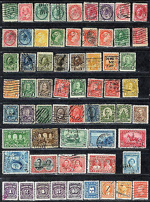 1872 Oldest (62) Vintage Canada Stamps Includes 14 Queen Victoria GREAT Used Lot
