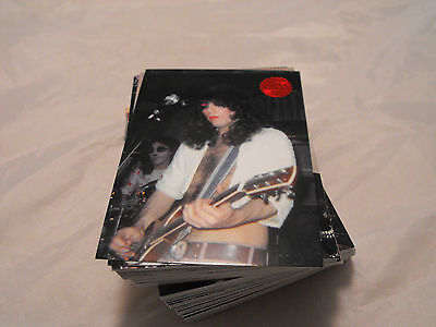 Kiss Series 2 Red Foil Stamped Parallel Set By Cornerstone