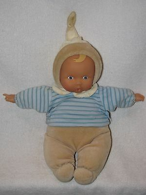 "12"" Vinyl Faced Stuffed Baby Doll By Corolle 2008"