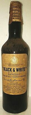 Very Old Scotch Whisky Buchanan's Black &white Clip Cap Perfect Cl 75 43°
