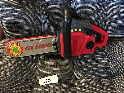 Vintage Pretend Play CHAINSAW With Sound Battery Operated Toy GUC