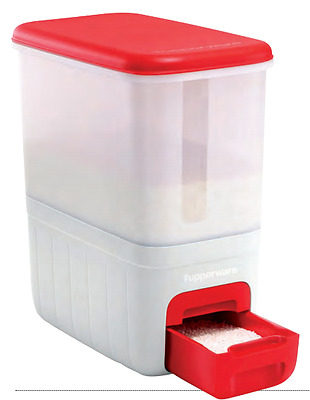 Tupperware Giant Storage Container Rice Dispenser Brand New in Box 10kg