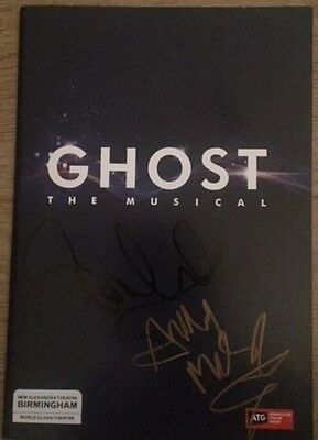 *signed*  Ghost The Musical Programme  (Sarah Harding / Andy Moss)  Autographed