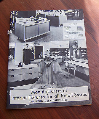 Vintage Shur-Nuff Inc Manufacturers Interior Fixtures for Retail Stores Catalog