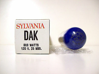 DAK (POSSIBLE DAY COMPATIBLE)  Projector Projection Lamp Bulb 500W 120V SYLVANIA