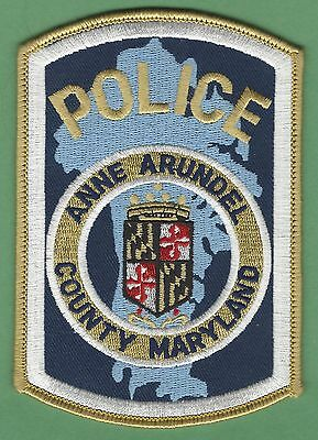 Anne Arundel County Maryland Police Patch
