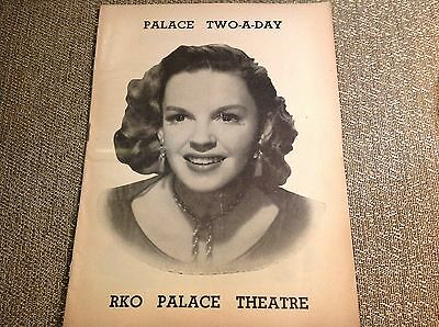 February 1952 - RKO Palace Theatre Playbill - Judy Garland - Two-A-Day