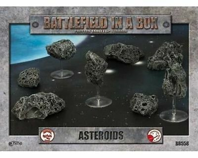 Gale Force Nine Miniature Battlefield in una scatola Asteroids (Asteroidi)